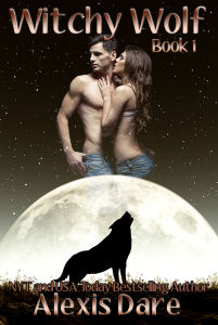 This image shows a generated crying wolf with moon